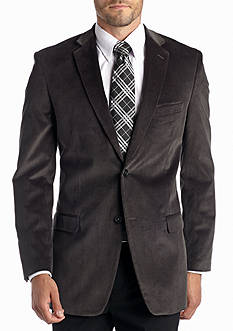 Saddlebred Classic-Fit Gray Corduroy Sport Coat