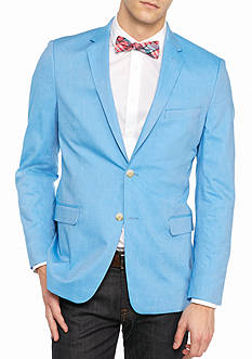 Saddlebred New Bright Blue Chambray Sport Coat