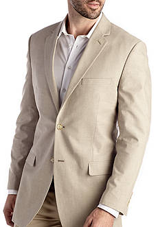Saddlebred Big & Tall Chambray Sport Coat