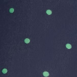 Young Men: Boxer Briefs Sale: Dot Print Green-Navy Saddlebred Novelty Knit Boxer Briefs