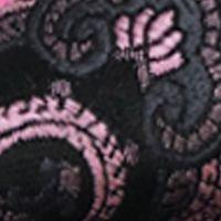 Mens Ties: Paisley & Formal: Black Susan G. Koman Knots for Hope Printed Paisley Bow Tie