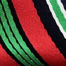 Black Tie: Black Holiday Ties by Hallmark Christmas Stripe Pre-Tied Bow Tie