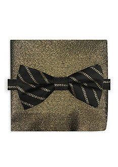 Holiday Ties by Hallmark Stripe Pre-Tied Bow Tie