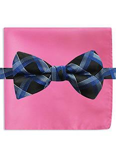 Susan G. Koman Knots for Hope Grid Bow Tie