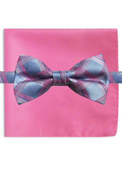 Susan G. Koman Knots for Hope Grid Bow Tie