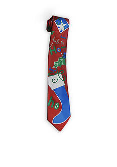 Hallmark Holiday Traditions Holidazzle Ho Ho He He Formal Tie