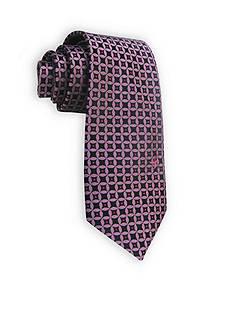 Susan G. Koman Knots for Hope Neat Logo Tie