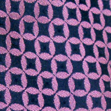 Mens Ties: All Neckties: Navy Susan G. Koman Knots for Hope Neat Logo Tie