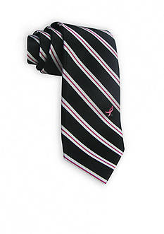 Susan G. Koman Knots for Hope Stripe Logo Tie