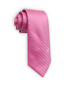 Susan G. Koman Knots for Hope Solid Herringbone Tie