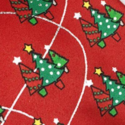 Black Tie: Red Holiday Ties by Hallmark Metallic Christmas Tree Tie