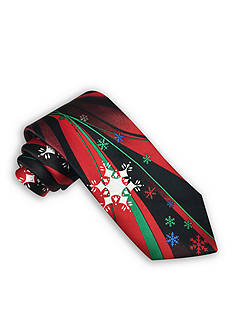 Holiday Ties by Hallmark Snowflake Pannel Tie