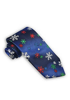 Holiday Ties by Hallmark Snowflake Tie
