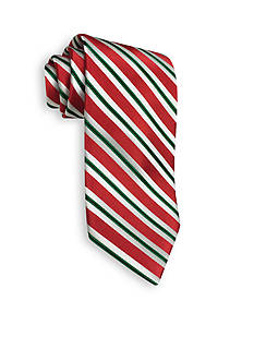 Hallmark Holiday Traditions Candy Cane Stripe Tie