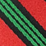 Mens Ties: Striped: Black Hallmark Holiday Traditions Candy Cane Stripe Tie