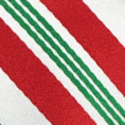 Mens Ties: Striped: Red Hallmark Holiday Traditions Candy Cane Stripe Tie