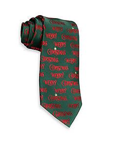 Hallmark Holiday Traditions Merry Christmas Tie