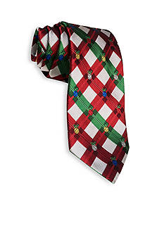 Hallmark Holiday Traditions Ornament Plaid Tie