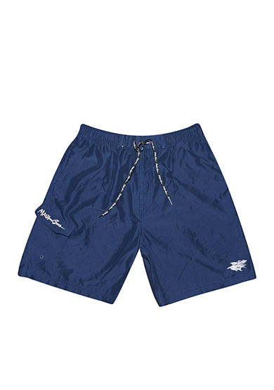 Maui and Sons® Big & Tall Solid Color Swim Trunk