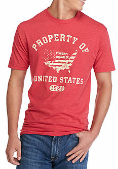 Hybrid™ Property of USA Graphic Tee