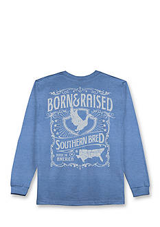 Hybrid™ All American Southern Bred Long Sleeve Graphic Tee