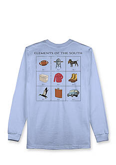 Hybrid™ Long Sleeve Elements of The South Graphic Tee