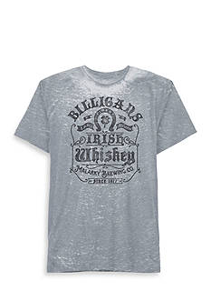 Well Worn Short Sleeve Billigans Whiskey Graphic Tee