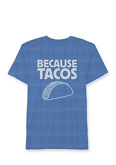 Hybrid™ Short Sleeve Because Tacos Graphic Tee