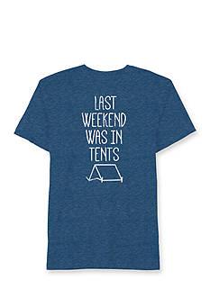 Hybrid™ Short Sleeve Weekend In Tents Graphic Tee