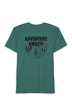 Well Worn Short Sleeve Adventure Awaits Graphic Tee