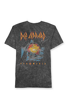 Hybrid™ Short Sleeve Def Leppard Pyromania Graphic Tee