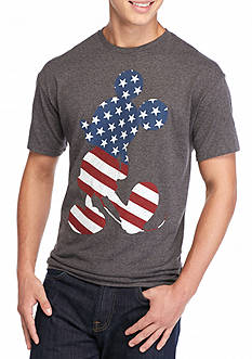 Hybrid™ Standing Mickey Flag Graphic Tee
