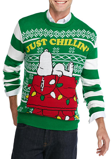 Hybrid™ Snoopy Just Chillin' Christmas Sweater