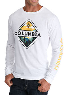 Columbia Long Sleeve Robinson Mountain Graphic Tee