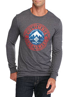 Columbia Long Sleeve Mountain Adventure Solitude Graphic Tee