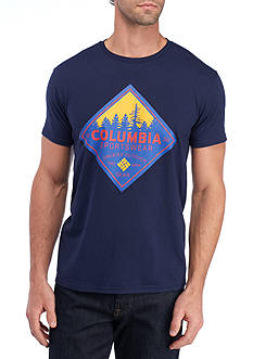 Columbia Short Sleeve Columbia Sportswear Sawtooth Graphic Tee