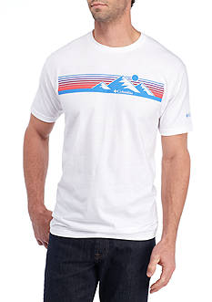 Columbia Short Sleeve Cush Columbia Sportswear Mountain Graphic Tee