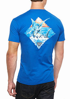 Columbia PFG Sharps Marlin Short Sleeve Graphic Tee