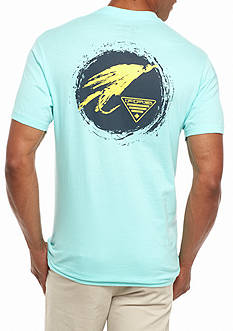 Columbia PFG Short Sleeve Tendale Lure Graphic Tee