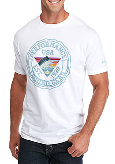 Columbia PFG Short Sleeve Mautz Marlin Graphic Tee