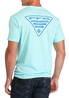 Columbia PFG Short Sleeve Triangle Graphic Tee