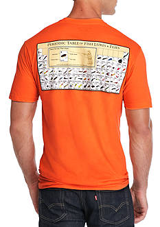Columbia Short Sleeve Periodic Chart Graphic Tee