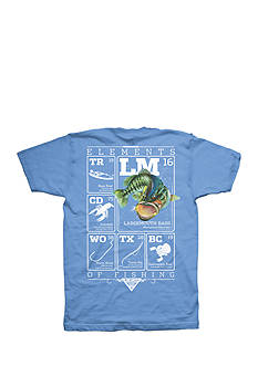 Columbia Big & Tall PFG Bass Elements II Short Sleeve Graphic Tee