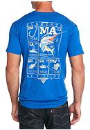 Columbia PFG Elements Marlin Short Sleeve Graphic