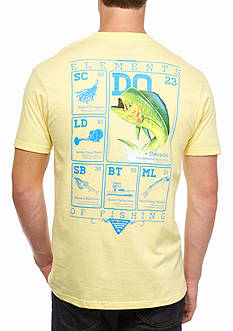 Columbia PFG® Elements Dorado Short Sleeve Graphic Tee