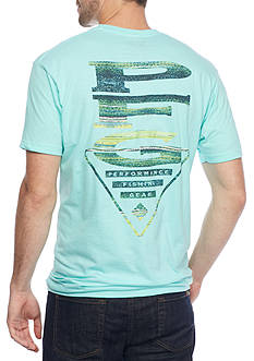 Columbia PFG Emerson Logo Graphic Tee