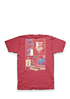 Columbia PFG Elements Brick Top Short Sleeve Graphic Tee
