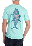 Columbia Short Sleeve PFG Clay Graphic Tee - Live