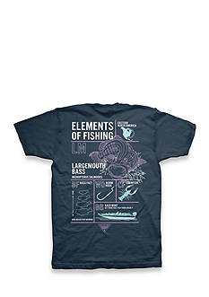 Columbia Big & Tall Short Sleeve Atticus Elements Bass Graphic Tee
