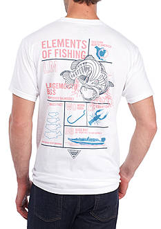 Columbia Short Sleeve PFG Bass Elements Tee